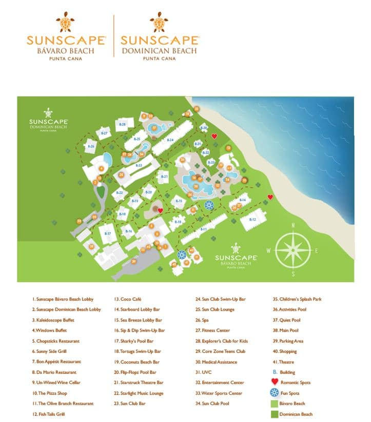 Impressive Premium Resort Punta Cana resort map