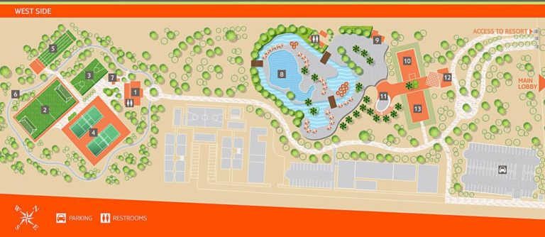 Nickelodeon Hotels & Resorts Punta Cana resort map​