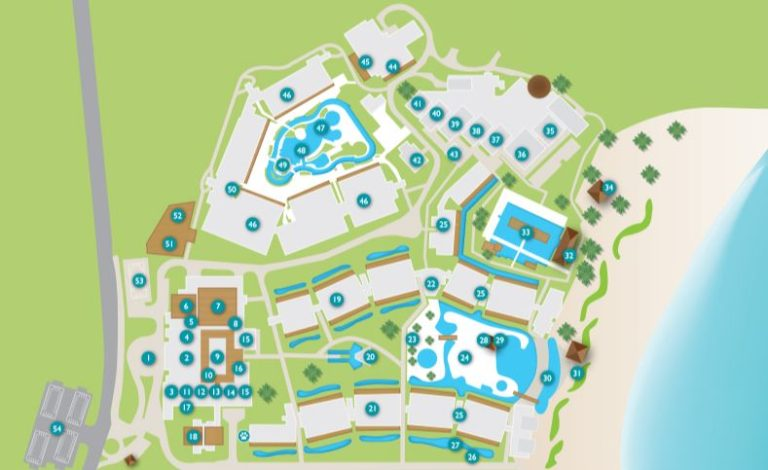 Now Onyx Punta Cana resort map​