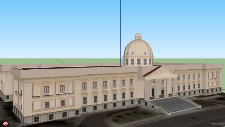 National Palace of the Dominican Republic 3D Model
