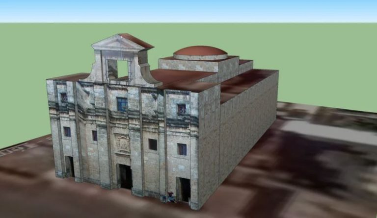 Dominican National Pantheon 3D Model