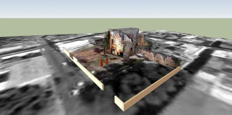 Ruins of the San Nicolas Hospital 3D Model