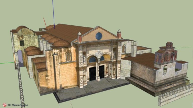 Santo Domingo Cathedral 3D Model