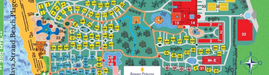 bavaro princess punta cana resort map