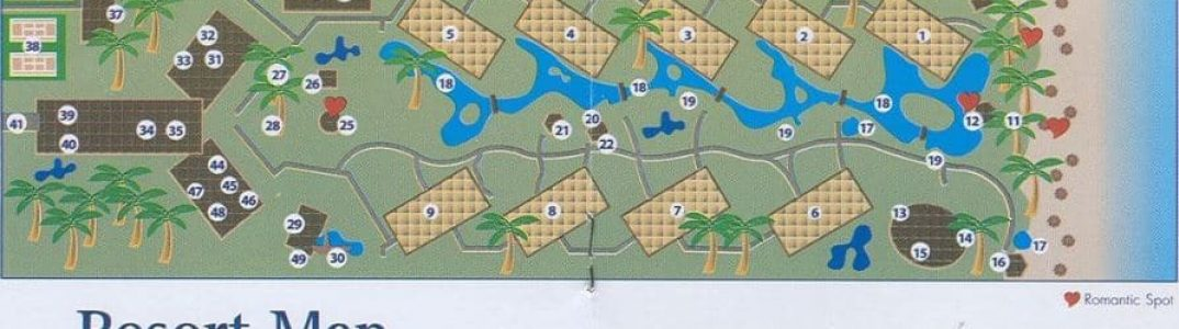 dream punta cana resort map
